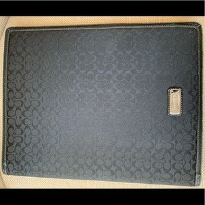 COACH 4 Piece Bundle! Black Cases, folio & More!